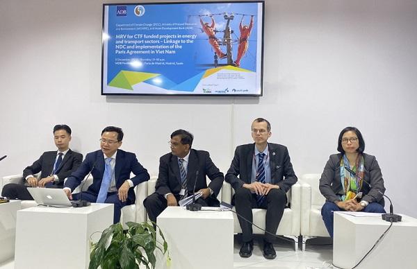 COP 25: Việt Nam tham gia nhiều sự kiện bên lề