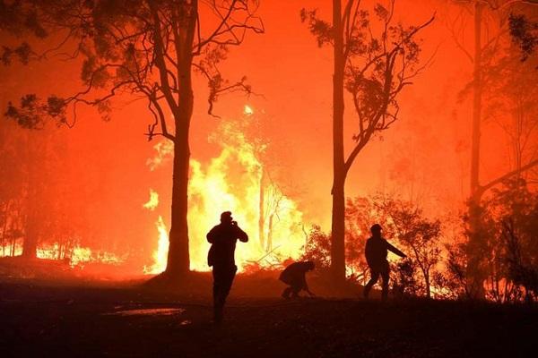 Hàng nghìn người chạy lửa, Thủ tướng Australia phớt lờ lý do biến đổi khí hậu