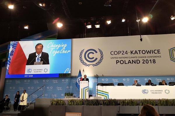 Bài phát biểu của Thứ trưởng Lê Công Thành, Trưởng đoàn Việt Nam tại phiên cấp cao - COP 24