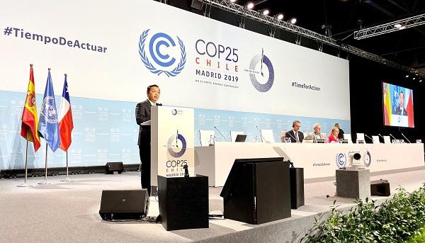 Các hoạt động quan trọng của Đoàn cấp cao Việt Nam tại COP25